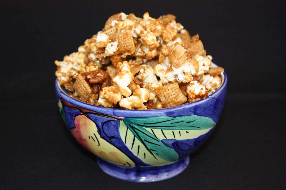 Salty and Sweet Caramel Corn