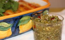 Chile de Arbol and Tomatillo Salsa