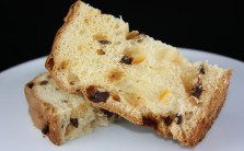Panettone is festive whether served simple or dressed for dessert.