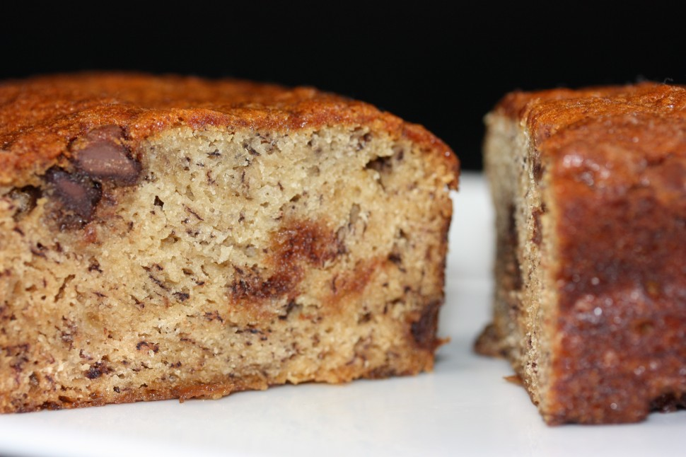 Chocolate chip banana bread.