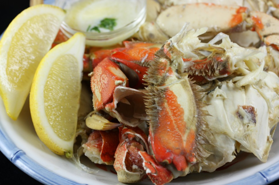 Dungeness crab:  seasonal, local (Bay Area) and fresh.