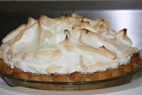 This was one amazing lemon meringue pie.