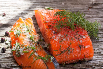 Sea Salt Cured Salmon