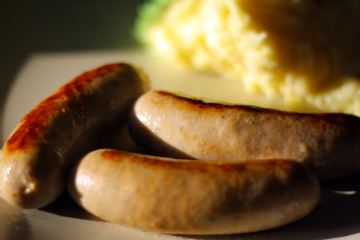 Traditional English Bangers