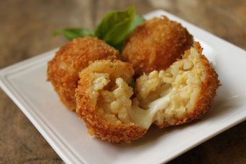 arancini risotto cheese balls