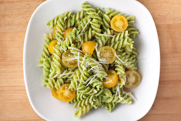 Pesto and Arugula Pasta