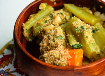 Root Vegetable Cassoulet