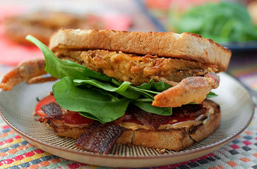 Softshell Crab BLT, from Connecticut
