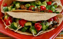 Spicy-Beef-and-Black-Bean-Soft-Tacos