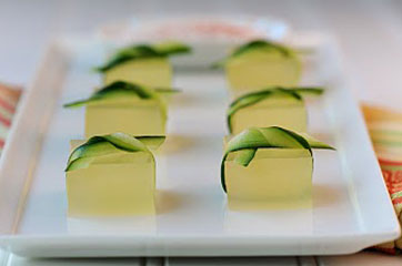 Tequila Lime Jelly Shots