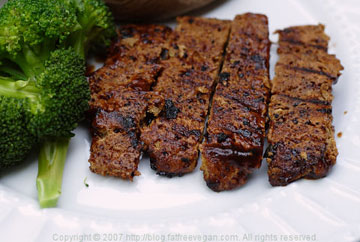 "Vegan BBQ ""Ribs"" (from FatFree Vegan Kitchen)"
