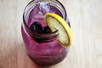 Blueberry Infused Vodka Lemonade