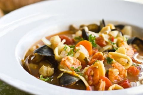 Bouillabaisse - French Seafood Stew