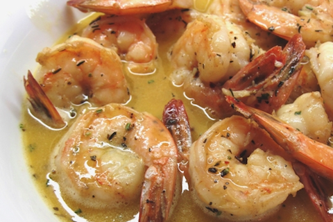 Garlicky Barbecue Shrimp