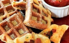 pizza waffles th