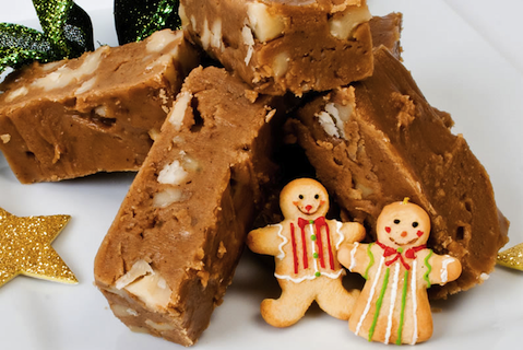 Gingerbread Fudge (from LunaCafe)