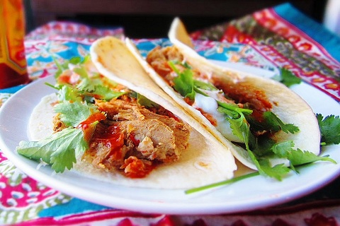 Braised Pork Shoulder Tacos