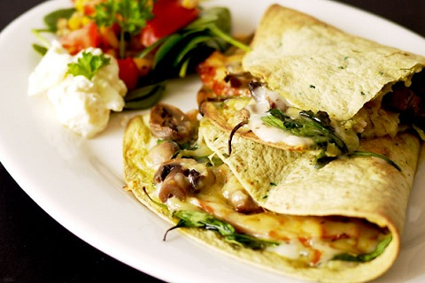 Chicken and Spinach Quesadillas