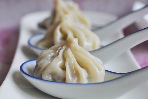 Shanghai Steamed Soup Dumplings - Xiao Long Bao