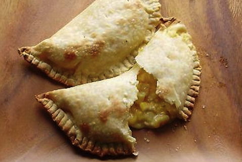 Sweet Corn and Cheese Empanadas