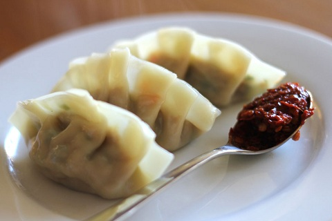Handmade Pork and Chive Dumplings