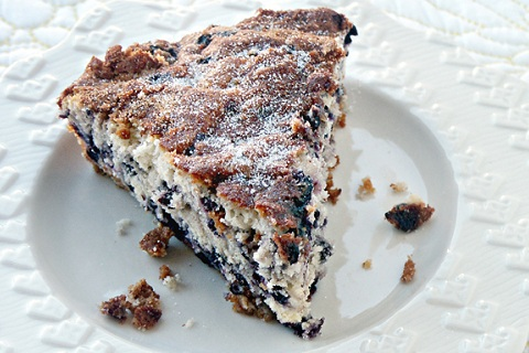 Wild Blueberry Coffee Cake