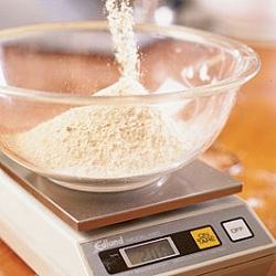 flour measurement fine cooking