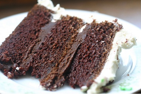Mexican Hot Chocolate Cake With Ganache Frosting Recipe ...