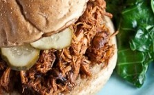 Honey-Bourbon Pulled Chicken