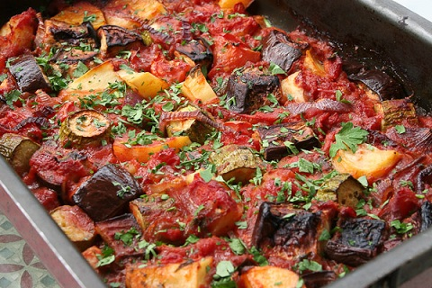 Briam (Roasted Vegetables)