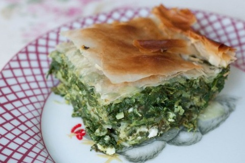 Spanakopita or Spinach Pie