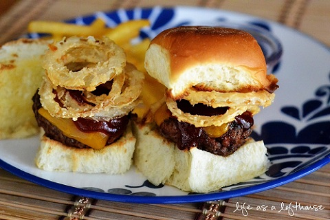 Western Cheeseburger Sliders