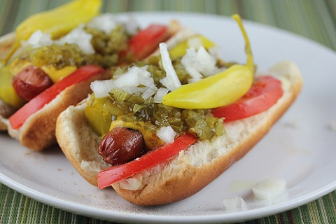 Chicago Style Hot Dogs Recipe