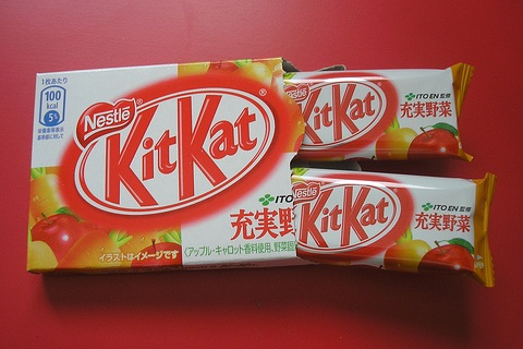 Fruit and Vegetable Kit Kat