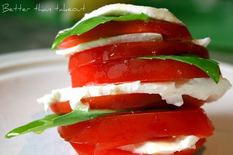 Stacked Caprese Salad from Better Than Take Out