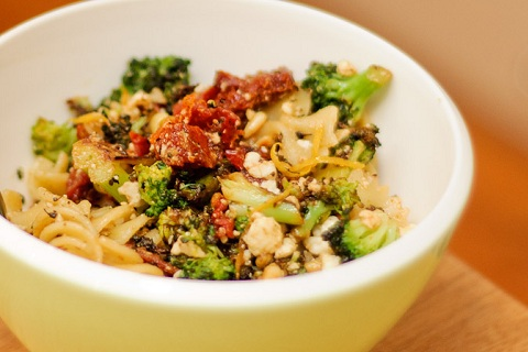 Super Simple Broccoli Pasta