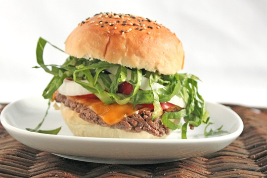 Old Fashioned Bison Burger