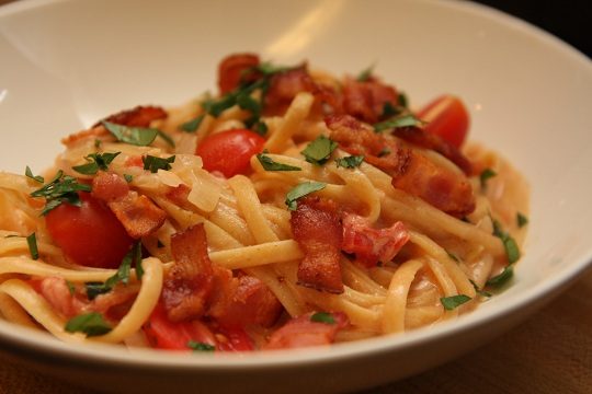 One Pot BLT Pasta