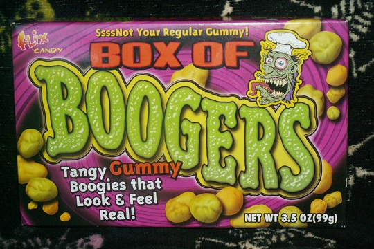 Box of Boogers Gummy Candies