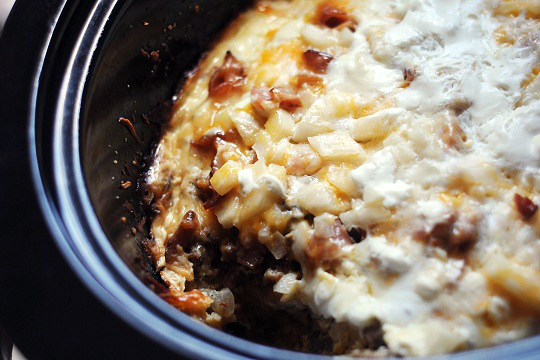 Crock Pot Breakfast Casserole