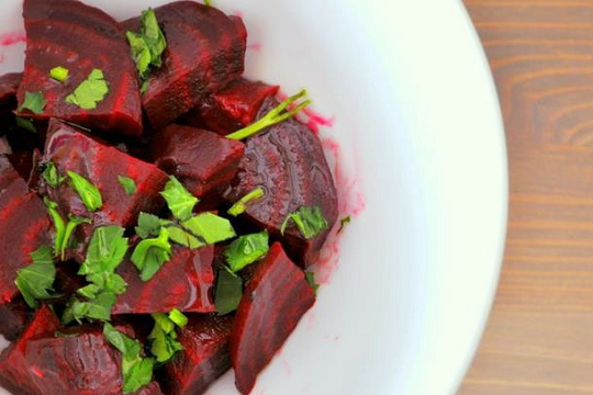 Moroccan Beet Salad With Cinnamon