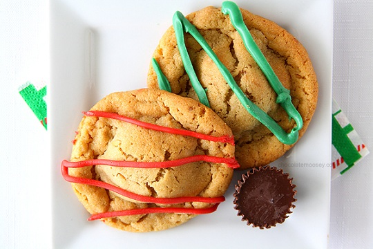 Double Peanut Butter Surprise Cookies