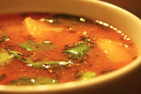 Tomato Rasam from Allrecipes