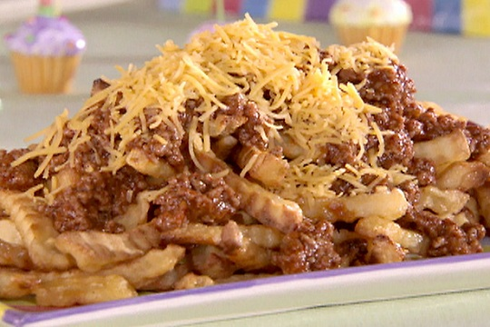 Chili Fries from Food Network