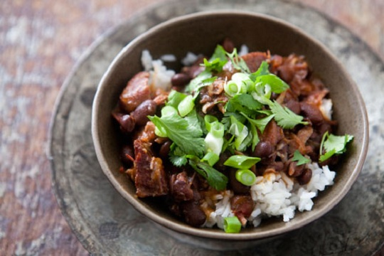 Feijoada, Brazilian Black Bean Stew from Simply Recipes