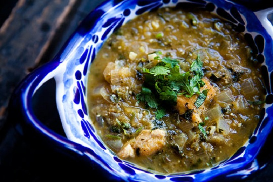 Tomatillo Chicken Stew from Simply Recipes