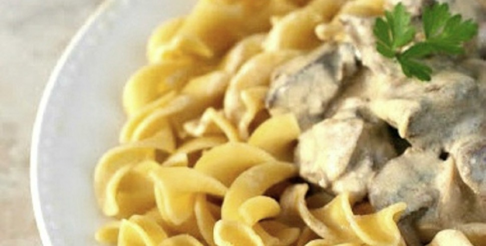 Mushroom-Stroganoff