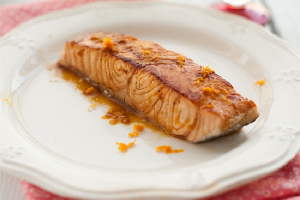 Orange Glazed Salmon from Gourmet Kitchen Tales