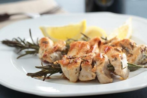 Garlic Roast Chicken with Rosemary and Lemon from Food Network