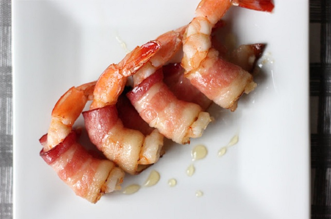 Shrimps in a Blanket from The Lucky Penny